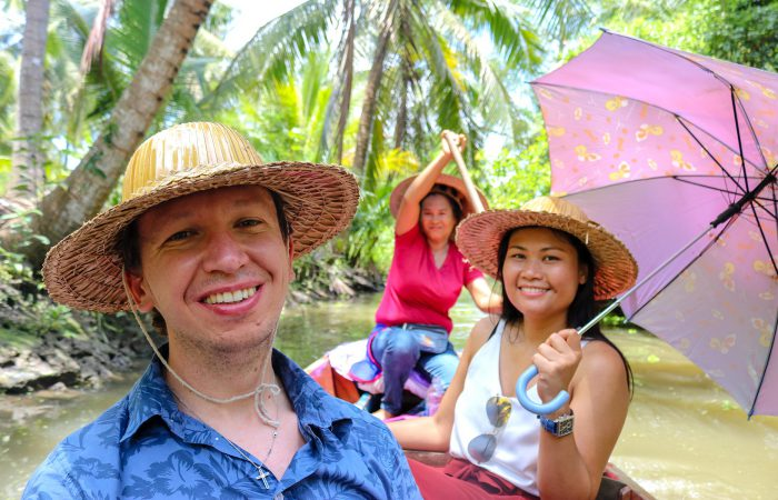 One Day Escape, Two Floating Markets Tours & Maeklong Train Market, Thailand
