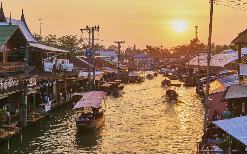 The Most Authentic Floating Markets Around Bangkok