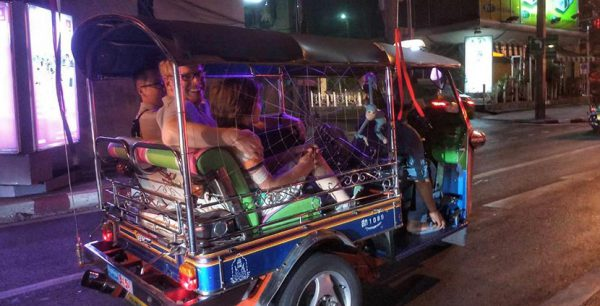 Bangkok Tuk-Tuk Ride & Bite Night Tour
